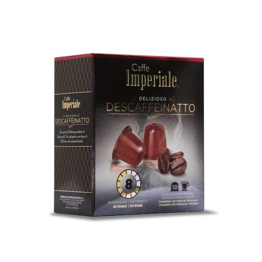 Cápsulas Imperiale – Descaffeinatto