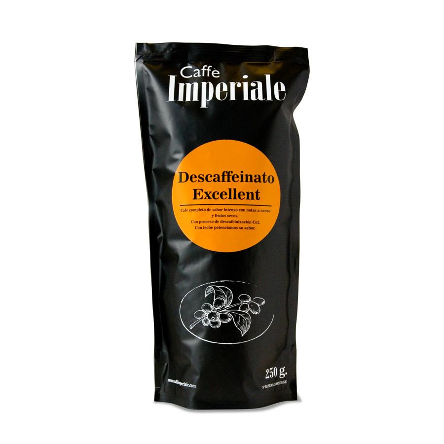 cafe descafeinado de origen bolsa 250 gramos